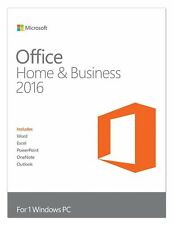 Microsoft Office Home and Business 2016 1PC Full Version Windows T5D02357