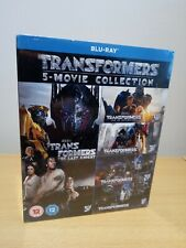 Transformers 5-Movie Collection Blu Ray UK Release BRAND NEW & SEALED