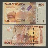 UGANDA  1000 sh  2010  P49  Uncirculated  Banknotes