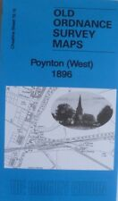 Old Ordnance Survey Maps Poynton (West) Cheshire 1896 Sheet 19.16 New