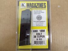 Colt Style 1911 Government 38 Super  Magazine by Triple K #18M