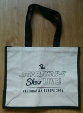 Star Wars Celebration Europe 'Show Live' 2016 offical cloth tote bag.