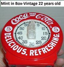 Coca Cola Soda Pop Kitchen Timer Coke  Kitchen  Cooking Timer MINT in BX