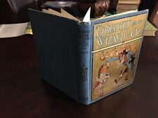 """Dorothy and the Wizard in Oz. 1st edition, 1st state, binding """"B"""" ~ 1908"""