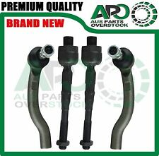 in & Outer Tie Rod End Kit 4PCS Compatible with  NISSAN NAVARA D40 2005 SPANISH