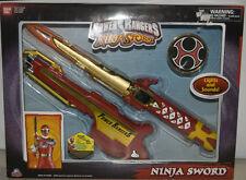 Power Rangers Ninja Storm Ninja Sword with Lights & Sounds Bandai New Old Stock