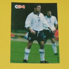 PAUL GASCOIGNE ENGLAND FOOTBALL CARD UEFA EURO 96 1996 EUROPEAN STARS PANINI
