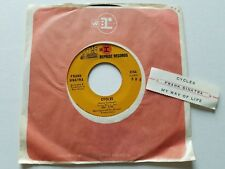 "FRANK SINATRA - My Way Of Life / Cycles 1968 JAZZ POP Reprise 7"" EX"