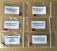 1 Satz Auto Reset Chips Canon PGI520 CLI521 MP980 MP990 incl. Chip für GRAU !!!