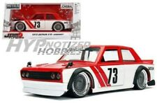 JADA 1:24 JDM TUNERS 1973 DATSUN 510 WIDEBODY DIE-CAST RED 99097