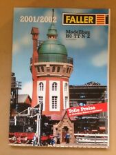 Faller Program Catalogue in German 2001/2002 358 pages