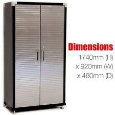 Seville HD 6ft Upright Steel Cabinet  Heavy Duty Garage Storage