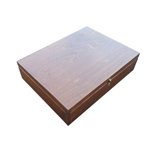 Large Wooden Box 40 x 30 x 10 cm size in Brown Colour