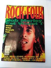 Magazine Rock and Folk - 1993- n°305 - Bob Marley- Pink Flyod- Joan Jett -