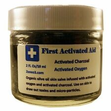 Activated Charcoal in Ozonated Olive Oil