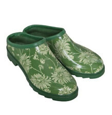 Laura Ashley Green Clogs Garden Shoes Cushioned Insole Size 7