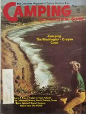 Camping Trailering Guide Nov 1973 - Washington Oregon Coast - NCHA - VG