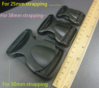 Plastic side release buckles clips Fasteners For Webbing Straps 25mm/38mm/50mm