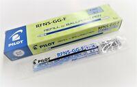 12 x Pilot Dr. Grip Ballpoint Pen Refills RFNS-GG-F 0.7mm Fine, BLUE ink