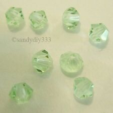 144x SWAROVSKI 5301 CHRYSOLITE 3mm BICONE CRYSTAL BEAD