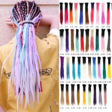 "30PCS/PACK 24"" Ombre Dreadlocks Full Hea Synthetic Braiding Locs Hair Extension"