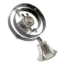 Bright Chrome Complete Traditional Butler Door Bell Kit - Fast & Free Delivery
