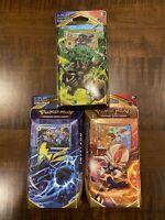 Pokemon Sword and Shield Theme Decks All 3 Decks Set