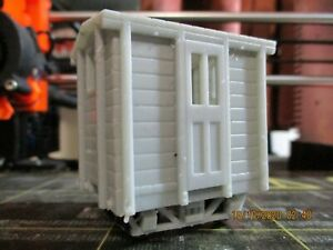 On30 4 Wheeled Caboose With Bar Frame Truck Chassis Kit