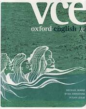 Oxford VCE English Units 1 and 2, SALTAU Book Horne Johnstone Leslie