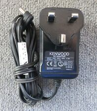 Kenwood W08-0993 UK Plug AC Power Adapter Charger 12 Watt 12 Volts 1 Amp