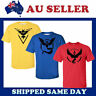 Adult Pokemon Go Team Valor Mystic Instinct Pokeball T-shirt Tee Shirt Tops