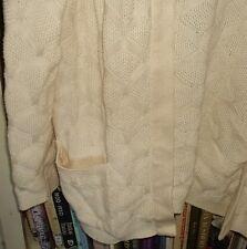 Vintage cotton cardigan bust 95cm exc. condition