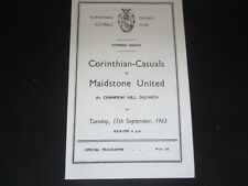 1956-57 MIDLAND LEAGUE  GRANTHAM v SCUNTHORPE UNITED RES
