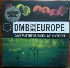Dave Matthews Band - Europe 2009 Live Ltd IMPORT 5lp Black Vinyl 3 CD #'d Set