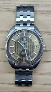 Vintage Tissot 1970s Tissonic Electronic F300 Men's Wristwatch ESA 9162 WORKING