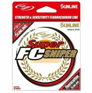 Sunline Super FC Sniper Clear Fluorocarbon Fishing Line 200yd Spool