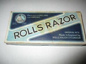 Vintage ROLLS RAZOR Imperial No. 2 Shaving Kit Made In England