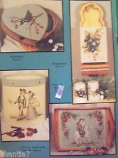 DECORATIVE TOUCHES BY JEAN ZAWICKI 1990 COUNTRY FOLK ART TOLE PAINTING BOOK