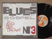 BIG BILL BROONZY gospel N°3 FRANCE VERVE EXC+