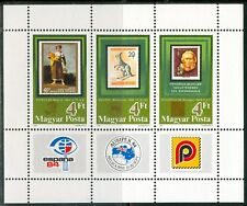 HUNGARY-1984.Souv.Sheet-Philatelic Exhibitions(Stamp on a stamp)MNH!! Mi Bl.171