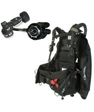 Zeagle Stiletto BC/BCD and Flathead LT Regulator Scuba Diving Set Package MD