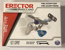 Meccano Erector Set Engineering Robotics ToyLearning Building Science Helicopter