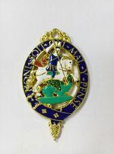 Medieval England Britain Royal Knight Kingdom King Order Garter Medal Badge Lord