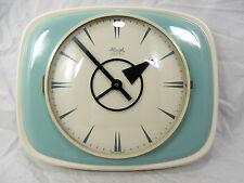 50´s Design KIENZLE Electric Wand Uhr mit ungewöhnlichen Zeigern pottery clock