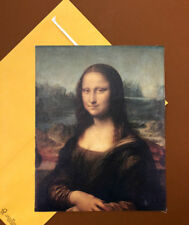 Mona Lisa Leonardo da Vinci Painting Art Print Canvas Poster Home Decor 8x10