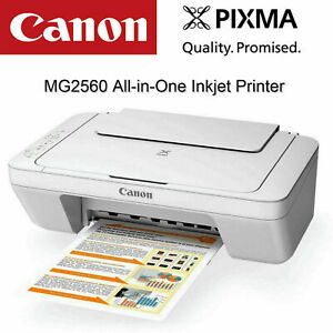 NEW Canon PIXMA HOME MG2560 Colour Inkjet MFP Printer (WITHOUT Starter Ink)