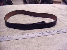 Vintage Don Hume B120 Size 34 Leather Basketweave Hidden Hardwear Duty Belt