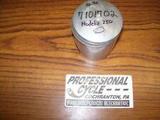 """Hodaka 250 Thunderdog NOS .50mm .020"""" 70.50mm NOS Piston & Ring OEM 7101702"""