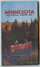 Vintage 1974 Minnesota Official Highway Road Map Nice and Clean!