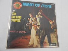 FRANCE HEART OF STONE THE ROLLING STONES WHAT A SHAME DECCA  - 45 RECORD 5D3